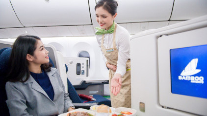 [Bamboo Airways] Ra mắt dịch vụ BAMBOO VIP: Tinh hoa trên từng dặm bay