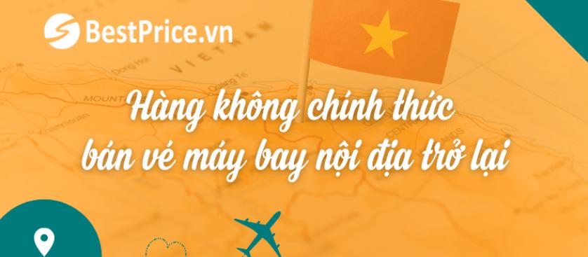 HOT: Hàng không chính thức bán vé bay nội địa trở lại