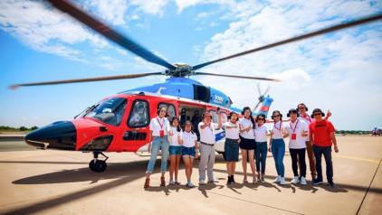 [MỚI] Thông tin trực thăng đi Côn Đảo: lịch bay, giá vé,...
