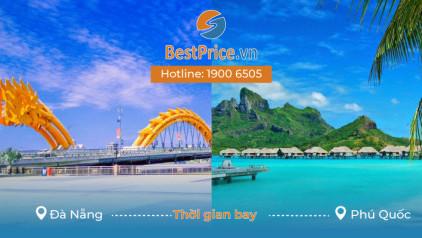 Thời gian bay từ Đà Nẵng đi Phú Quốc mất bao lâu?