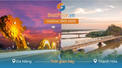 Thời gian bay từ Đà Nẵng đi Thanh Hóa mất bao lâu?