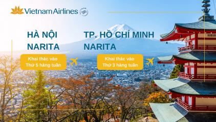 [Vietnam Airlines] Lịch bay đi Nhật Bản (T9/2021 - T3/2022)
