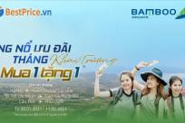 [Bamboo Airways] MUA 1 TẶNG 1 mừng khai trương các đường bay mới