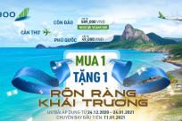 [Bamboo Airways] MUA 1 TẶNG 1 mừng khai trương đường bay mới Cần Thơ – Côn Đảo/Phú Quốc