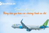 [Bamboo Airways] Thông báo gia hạn các chương trình ưu đãi