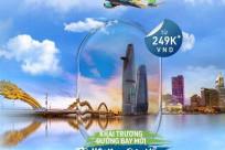 Bamboo mở đường bay mới Hồ Chí Minh - Đà Nẵng giá chỉ từ 249k
