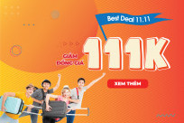 Best Deal 11.11: Giảm đồng giá 111K duy nhất tại BestPrice