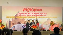 BestPrice tham dự lễ công bố mở đường bay mới đến Ấn Độ của Vietjet Air