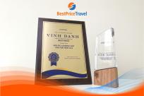 """BestPrice Travel nhận giải """"Đối tác có đóng góp tích cực nhất năm 2019"""" từ Vinpearl"""