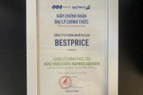 BestPrice tự hào là đại lý cấp 1 của hãng hàng không Bamboo Airways