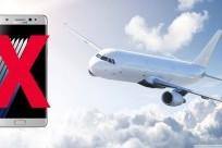 Cấm sử dụng SamSung Galaxy Note 7 trên các chuyến bay