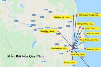 Cập nhật mới nhất bản đồ Quy Nhơn Phú Yên