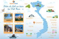 Cập nhật mới nhất những địa điểm du lịch an toàn mùa dịch Covid-19