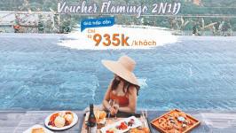 Chỉ từ 935k/người - sở hữu ngay Voucher nghỉ dưỡng tại Flamingo Resort
