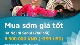 Cơ hội du lịch nước ngoài giá rẻ cùng Vietnam Airlines