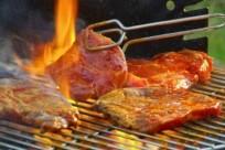 Dã ngoại Tam Đảo: suýt xoa món bò tái kiến đốt