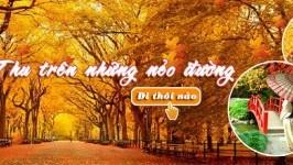 Đặc sắc tour du lịch mùa thu