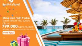 Đại tiệc đồng giá, nhận quà thả ga tại Eden Resort Phú Quốc