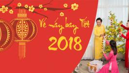 Đặt mua vé máy bay Tết Âm Lịch 2018