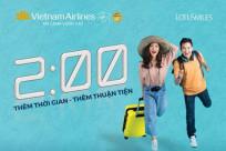 Đặt vé máy bay Vietnam Airline thêm thời gian - thêm thuận tiện