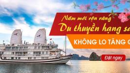 Đón năm mới trên Du thuyền Hạ Long, KHÔNG LO TĂNG GIÁ