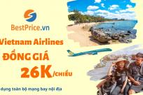 [ĐỒNG GIÁ 26K] Vietnam Airlines: Chi Phí Nhỏ, Tiện Ích Lớn