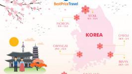 Dự báo lịch hoa anh đào nở năm 2020 tại Nhật Bản, Hàn Quốc