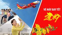 Giá vé Tết 2019 của một số chặng bay hãng Vietjet Air giảm nhiệt!