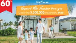 [GIẢM TỚI 60%] Vinpearl Villa Voucher trọn gói chỉ từ 3.500k/ khách/ 3N2Đ