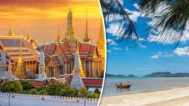 Gợi ý lịch trình du lịch Hà Nội – Bangkok – Huahin 5N4Đ với giá cực tiết kiệm