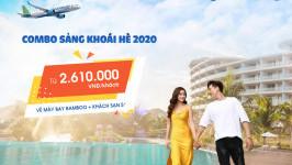 [HOT] Chỉ từ 2.610k với combo SẢNG KHOÁI HÈ 2020: Vé máy bay Bamboo Airways + Khách sạn 5*