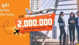 Jetstar tặng 1 vé máy bay khi mua 2 vé máy bay