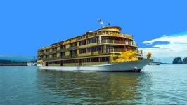 Khám phá Golden Cruise - du thuyền lớn nhất Vịnh Hạ Long