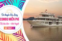 Khuyến mại du thuyền Hạ Long- Tặng Combo miễn phí