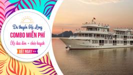 Khuyến mại du thuyền Hạ Long - Tặng Combo miễn phí
