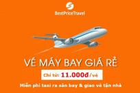 Mở bán vé máy bay giá rẻ chỉ từ 11.000đ - Mức giảm sâu kỷ lục