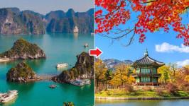 [Mới nhất] Giá vé máy bay từ Việt Nam sang Hàn Quốc