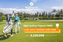 Nghỉ dưỡng Vinpearl 3N2Đ, chơi golf thả ga không giới hạn