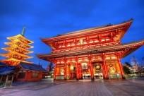 Những ngôi chùa nhất định ghé qua khi tới đất nước mặt trời mọc