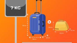 Những quy định khi mang hành lý xách tay lên máy bay