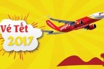 Bản tin vé Tết lần 1: Tổng hợp vé máy bay Tết 2017 Vietnam Airlines, Vietjet, Jetstar