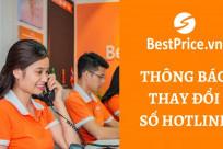 [QUAN TRỌNG] BestPrice.vn Thông Báo Thay Đổi Số Hotline