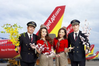 Vietjet Air quy định vận chuyển hoa đào, hoa mai Tết Canh Tý 2020