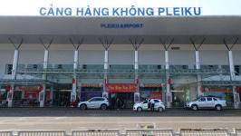 Sân bay Pleiku (Gia Lai) cách trung tâm bao xa? Cách di chuyển từ sân bay đến trung tâm