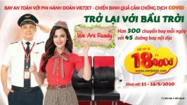 Săn vé máy bay giá rẻ 18.000đ Vietjet - Duy nhất trong 6 ngày