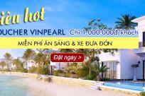 SIÊU HOT 2017! Voucher Vinpearl 5* tiết kiệm