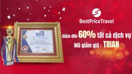 Thắng lớn tại Travelers' Best Choice Awards 2019, BestPrice sale mạnh tri ân cuối năm