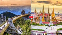 Thời gian bay từ Đà Nẵng đến Bangkok mất bao lâu?
