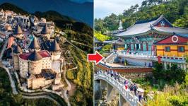 Thời gian bay từ Đà Nẵng đến Busan mất bao lâu?