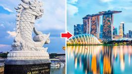 Thời gian bay từ Đà Nẵng đến Singapore mất bao lâu?